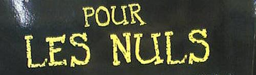 0 POUR LES NULS